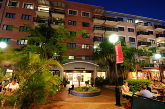 Central Brunswick Apartment Hotel - Accommodation Port Macquarie