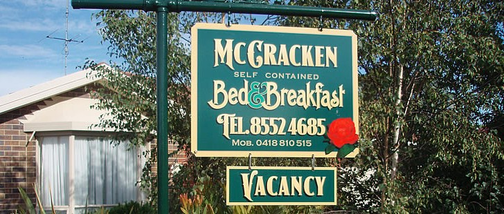Mc Cracken Bed and Breakfast - Accommodation Port Macquarie