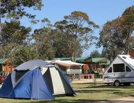 BIG4 Moruya Heads Easts at Dolphin Beach Holiday Park - Accommodation Port Macquarie