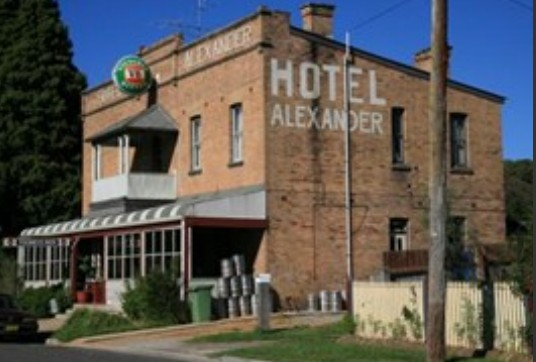 Alexander Hotel Rydal - Accommodation Port Macquarie
