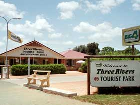 Mundubbera Three Rivers Tourist Park - Accommodation Port Macquarie