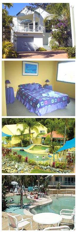 Tropic Oasis Holiday Villas - Accommodation Port Macquarie