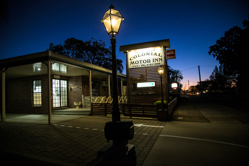 Gayndah Colonial Motor Inn - Accommodation Port Macquarie