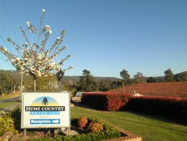 Hume Country Motor Inn - Accommodation Port Macquarie