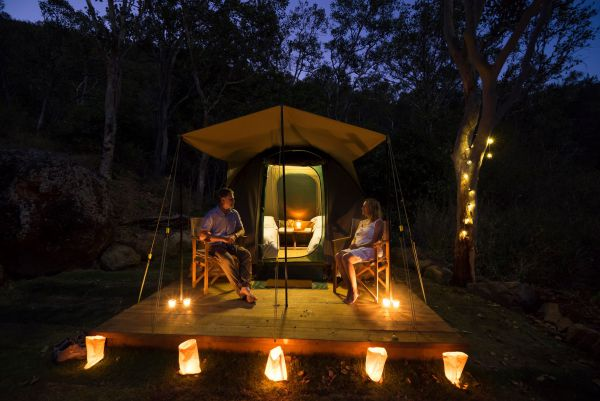 Keswick Island Camping and Glamping - Accommodation Port Macquarie