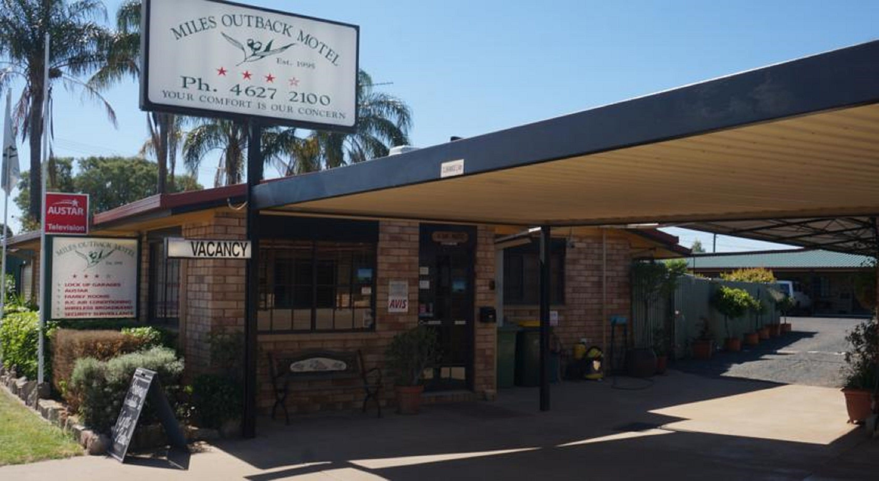 Miles Outback Motel - Accommodation Port Macquarie
