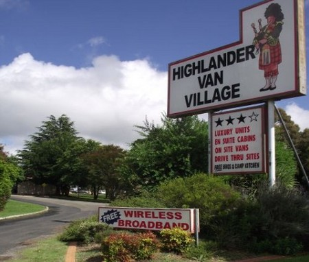 Highlander Van Village - Accommodation Port Macquarie