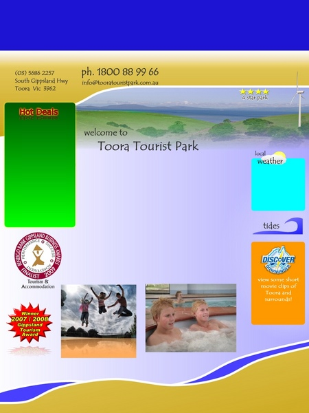 Toora Tourist Park - Accommodation Port Macquarie