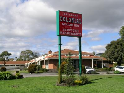 Ballarat Colonial Motor Inn - Accommodation Port Macquarie