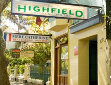Highfield Private Hotel - Accommodation Port Macquarie