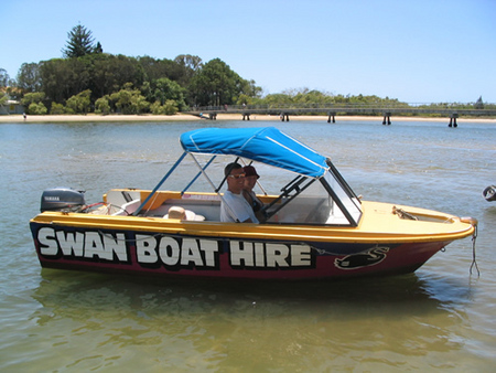 Swan Boat Hire - Accommodation Port Macquarie