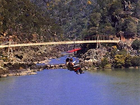 Launceston Cataract Gorge  Gorge Scenic Chairlift - Accommodation Port Macquarie