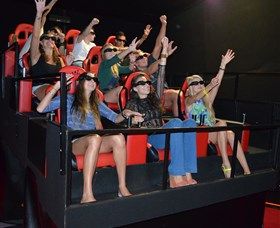 7D Cinema - Virtual Reality - Accommodation Port Macquarie