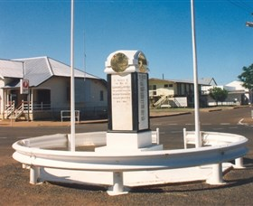 Cloncurry War Memorial - Accommodation Port Macquarie
