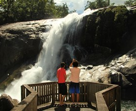 Murray Falls Girramay National Park - Accommodation Port Macquarie
