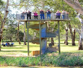 Darling and Murray River Junction and Viewing Tower - Accommodation Port Macquarie