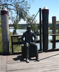 Captain John Egge Statue - Accommodation Port Macquarie