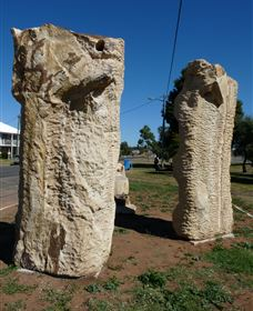 Fossilised Forrest Sculptures - Accommodation Port Macquarie
