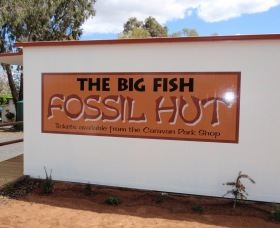 Big Fish Fossil Hut at Peak Hill - Accommodation Port Macquarie