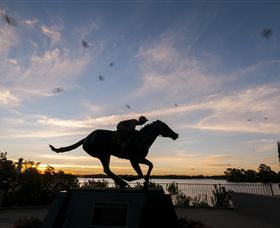 Black Caviar Statue - Accommodation Port Macquarie