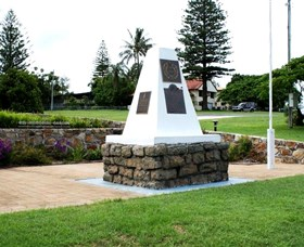 Dunwich War Memorial - Accommodation Port Macquarie