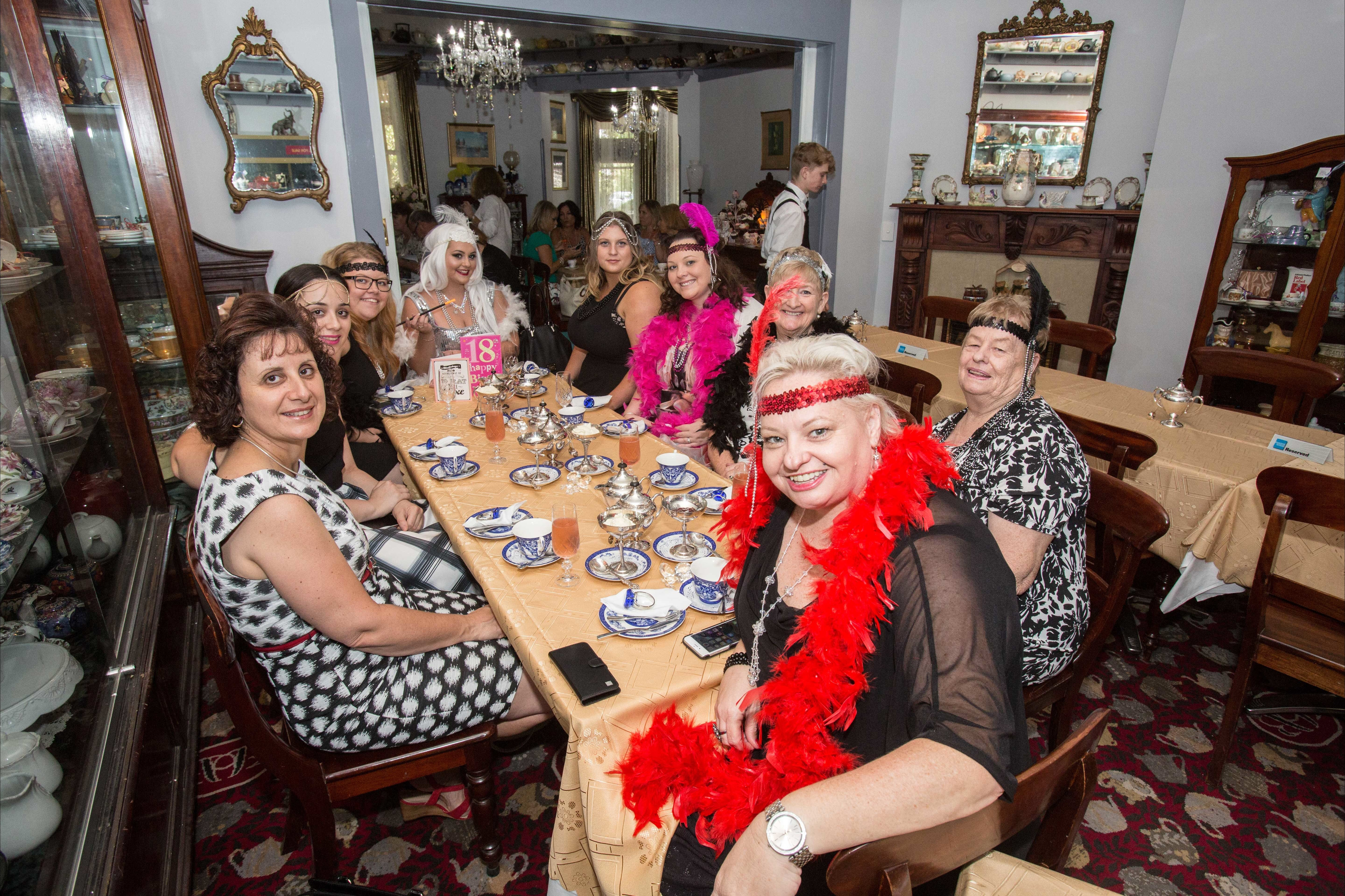 Bygone Beauty's Traditional High Tea Supreme for Good Food Month. - Accommodation Port Macquarie