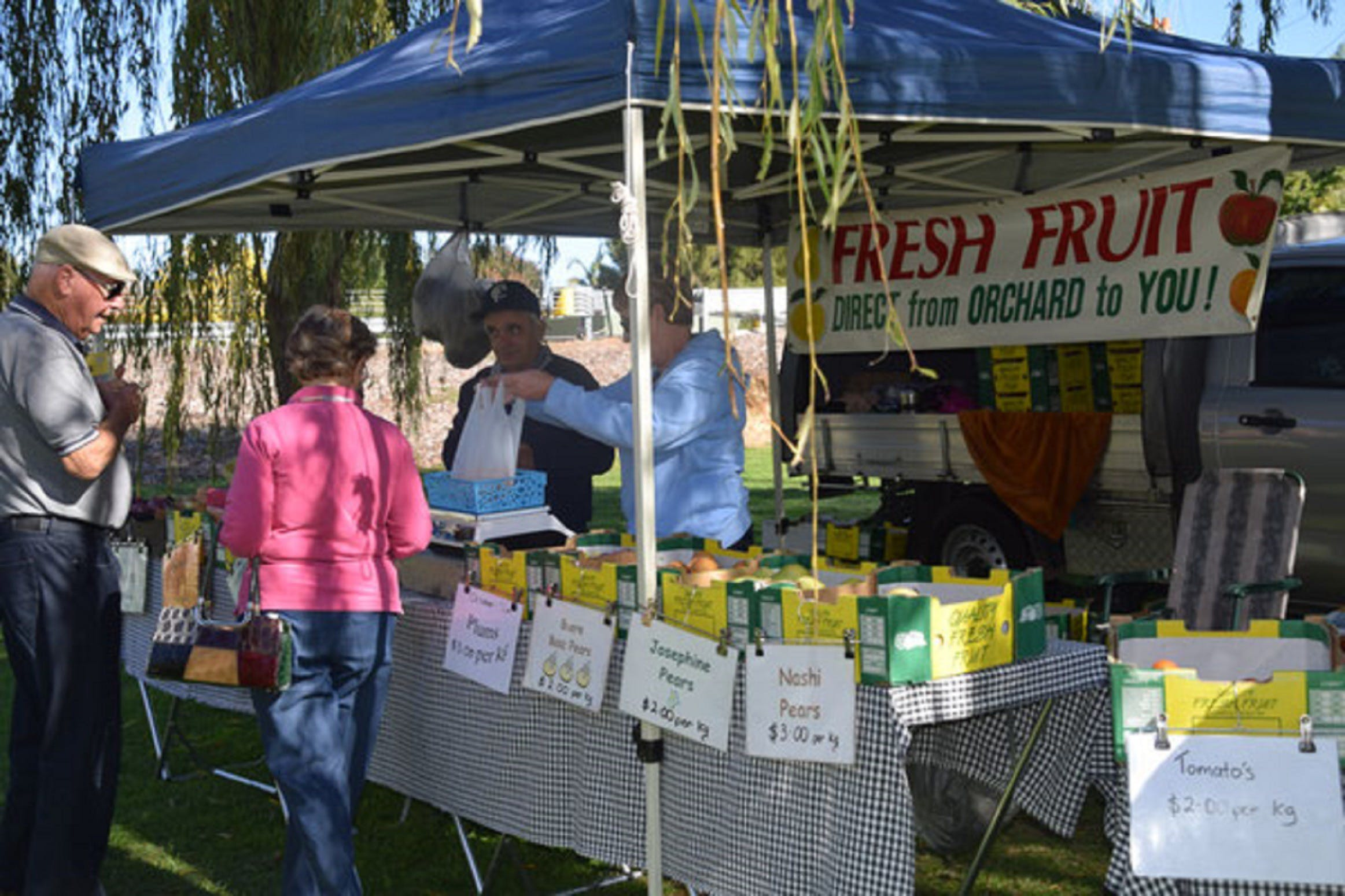 Corowa Rotary Federation Festival Market - Accommodation Port Macquarie