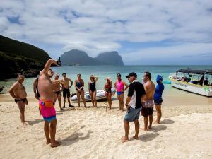 Ocean Swim Week with Trevor Hendy Pinetrees Lord Howe Island - Accommodation Port Macquarie
