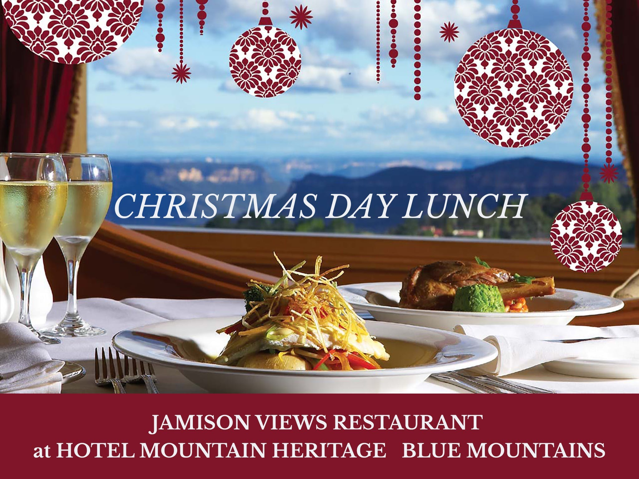 Christmas Day Lunch Hotel Mountain Heritage - Accommodation Port Macquarie