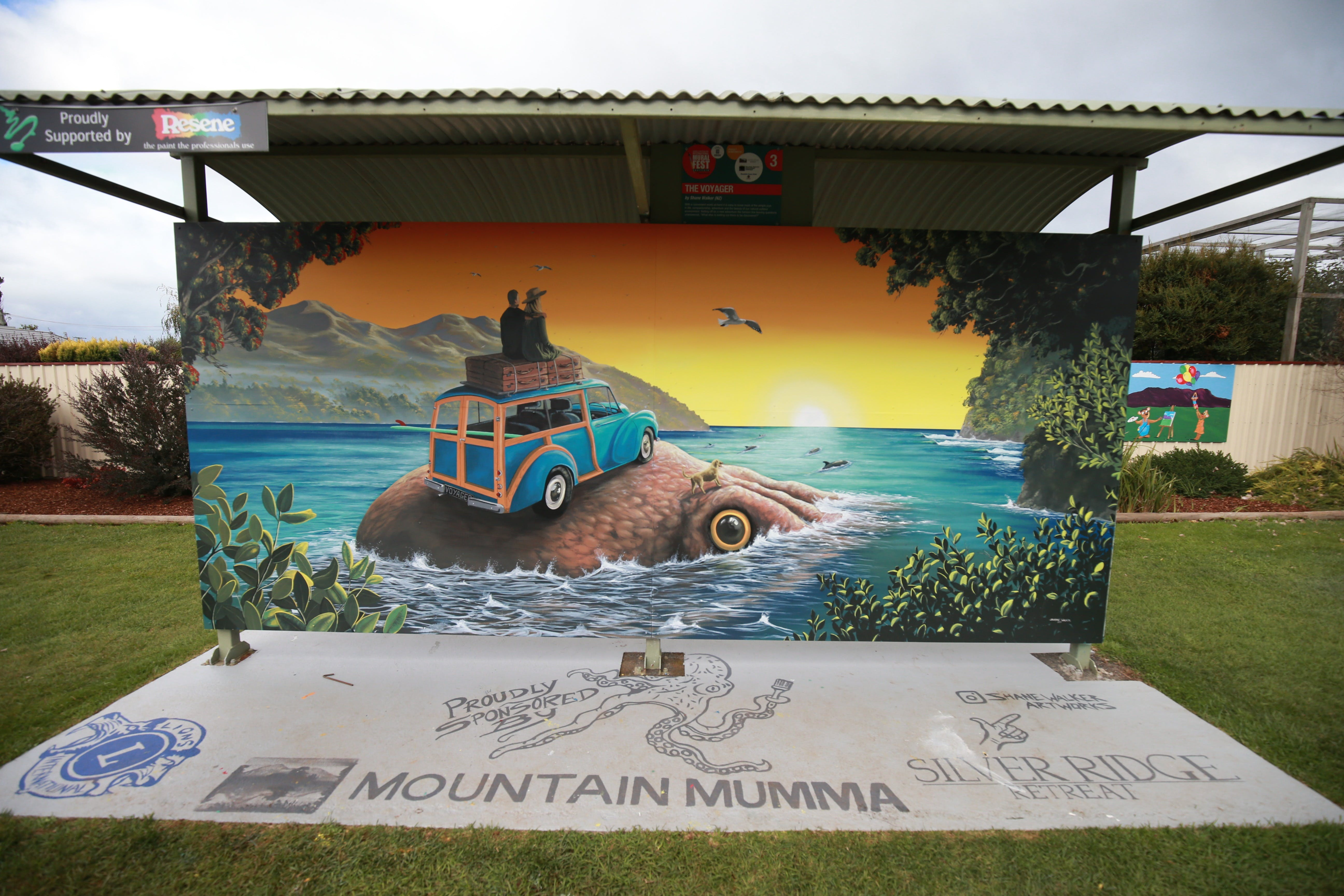 Davies Construction International Mural Fest - Accommodation Port Macquarie