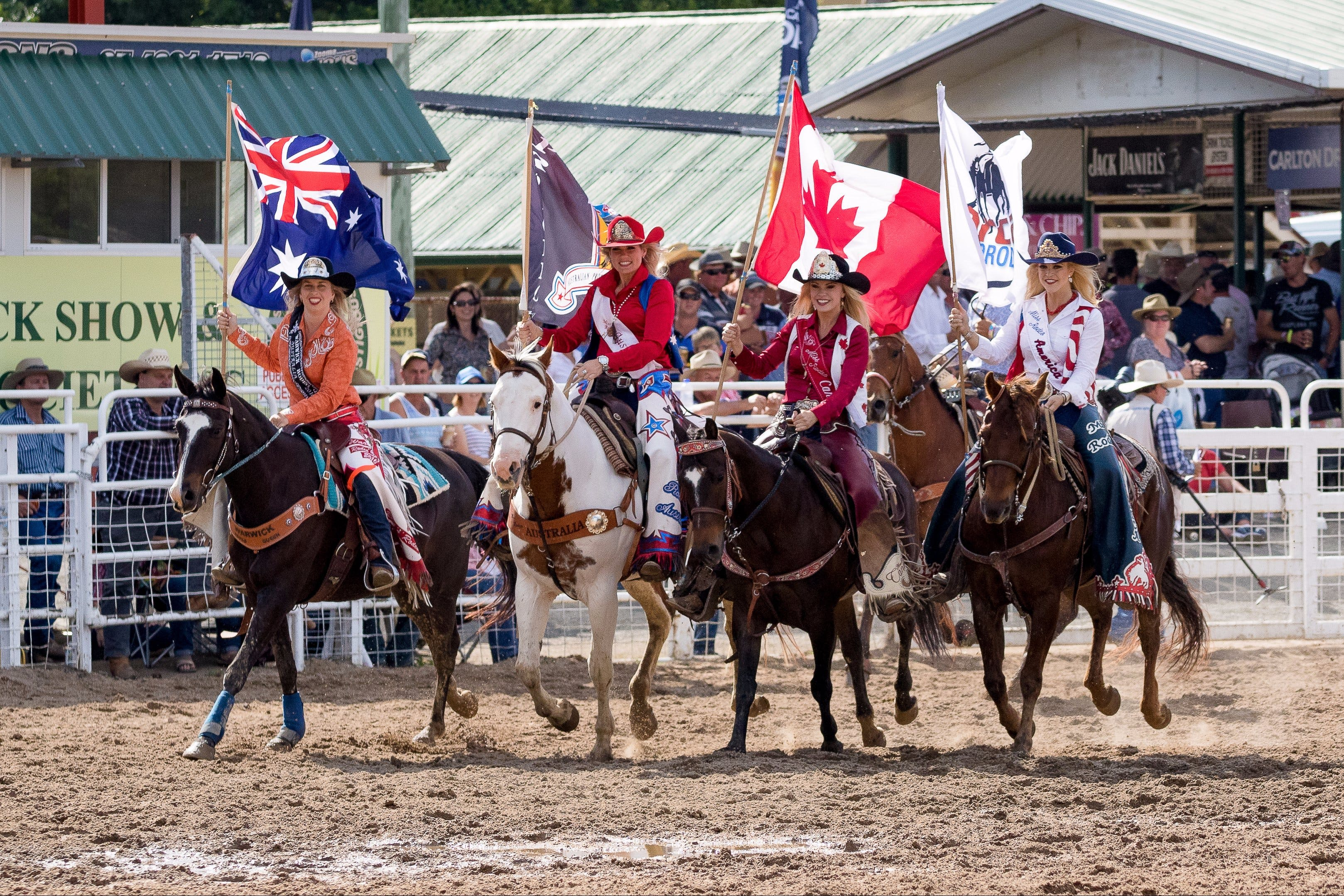 Warwick Rodeo National APRA National Finals and Warwick Gold Cup Campdraft - Accommodation Port Macquarie