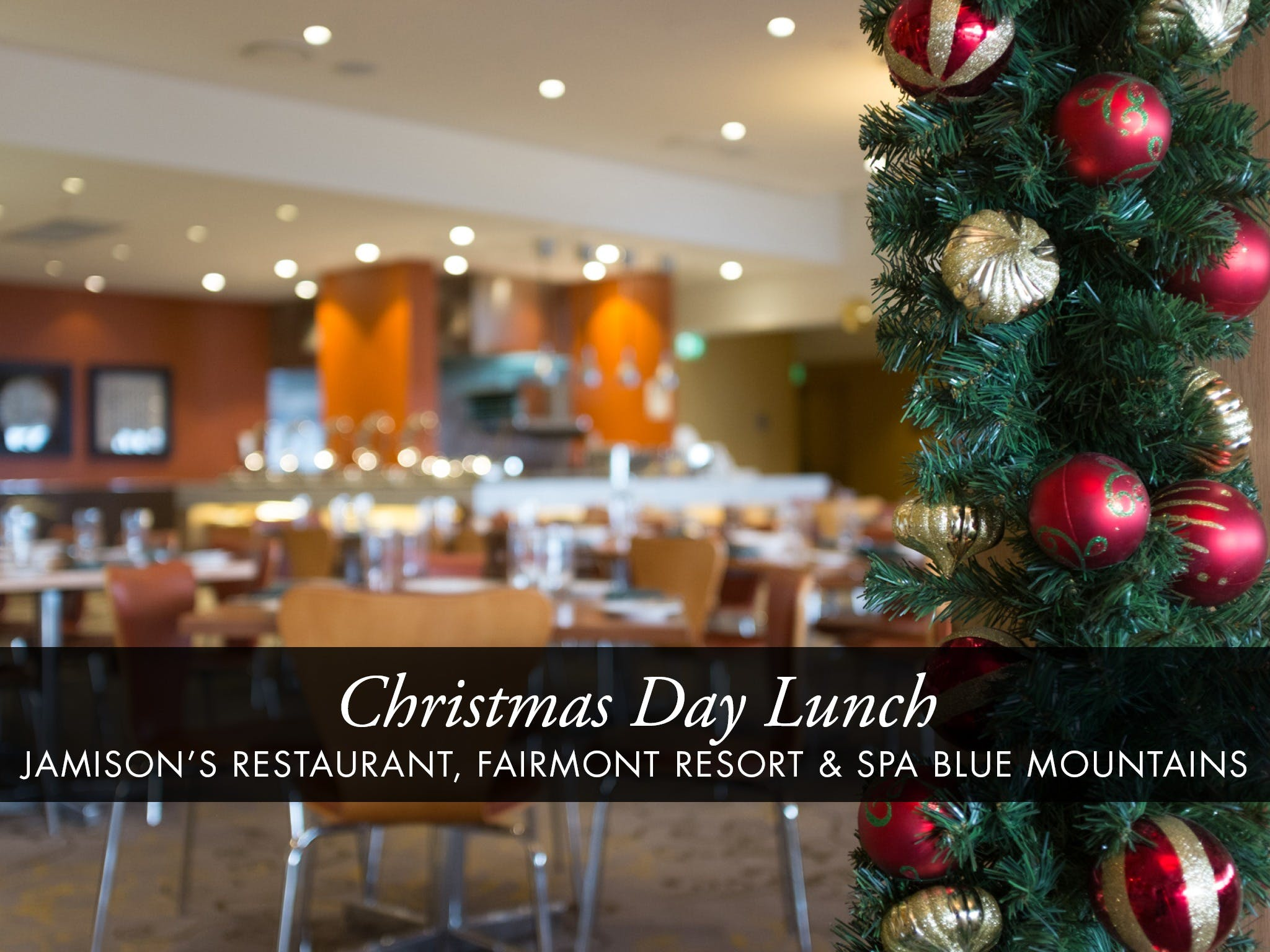 Christmas Day Buffet Lunch at Jamison's Restaurant - Accommodation Port Macquarie