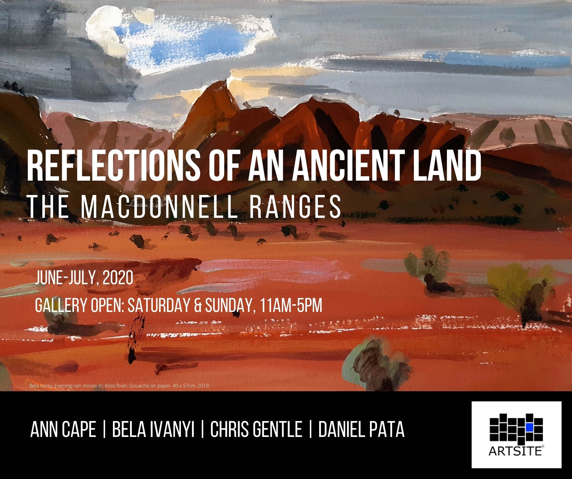 Reflections of An Ancient Land The MacDonnell Ranges - Accommodation Port Macquarie