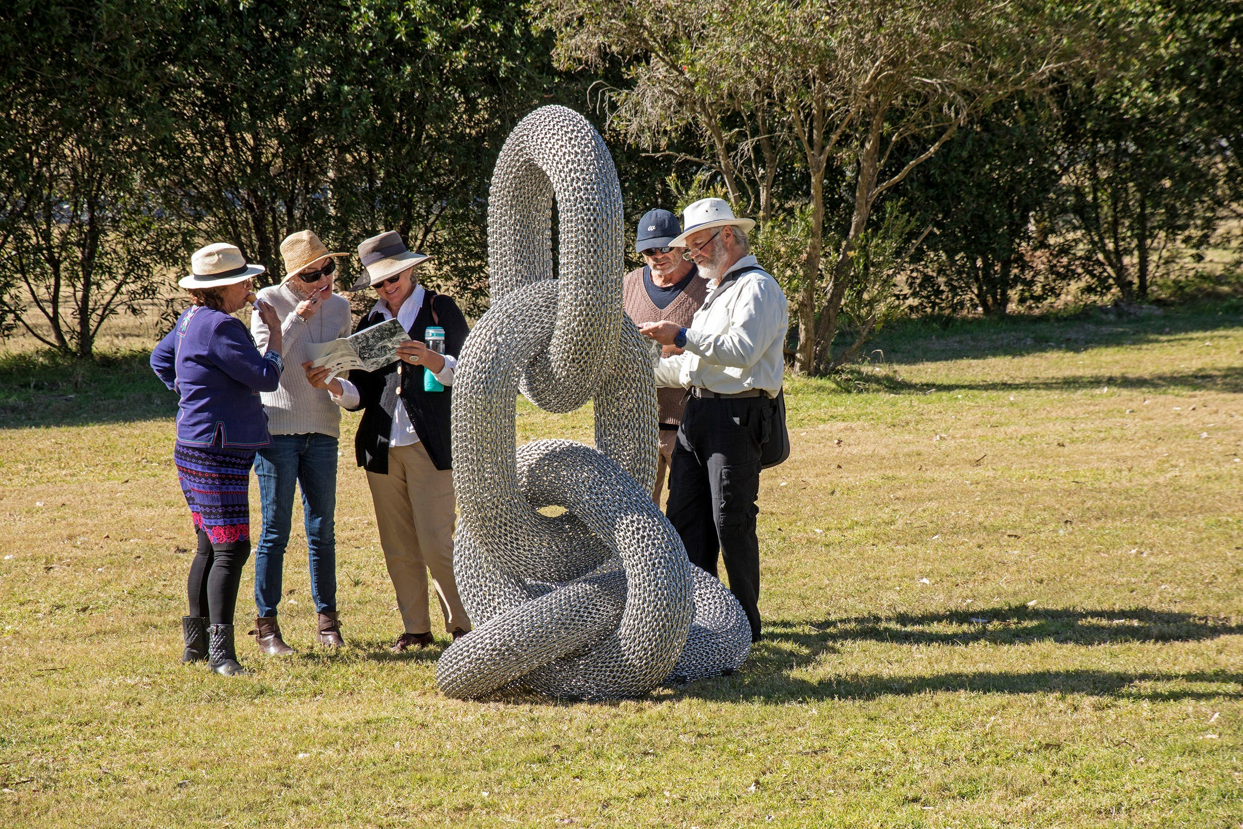 Sculpture for Clyde - Outdoor Exhibition - Accommodation Port Macquarie