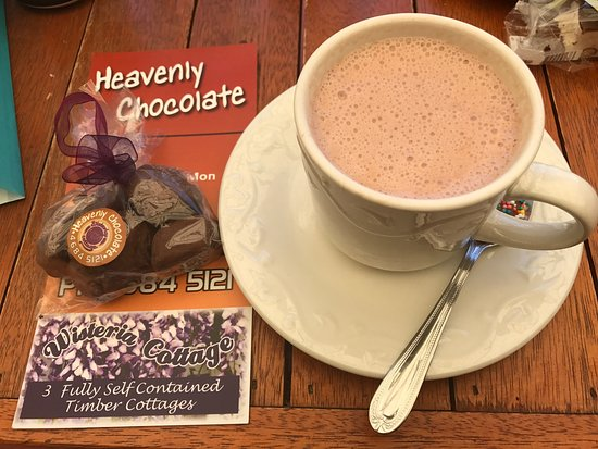 Stanthorpe's Heavenly Chocolate at Wisteria Cottage - Accommodation Port Macquarie